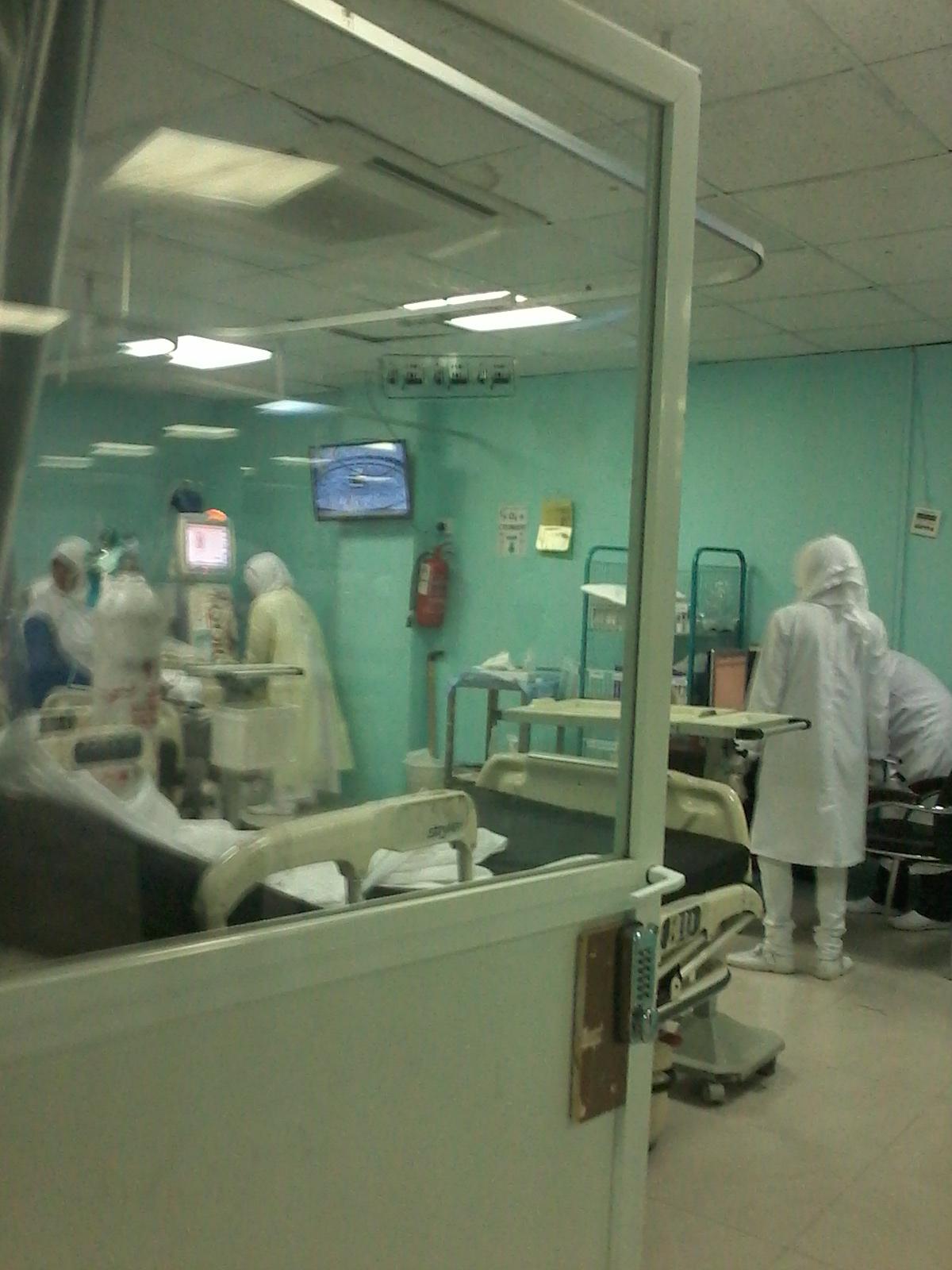 Pertolongan Alloh, Sampai Juga Ke Rumah Sakit (2)